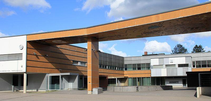 Hiidenkivi primary school, Tapanila, Helsinki