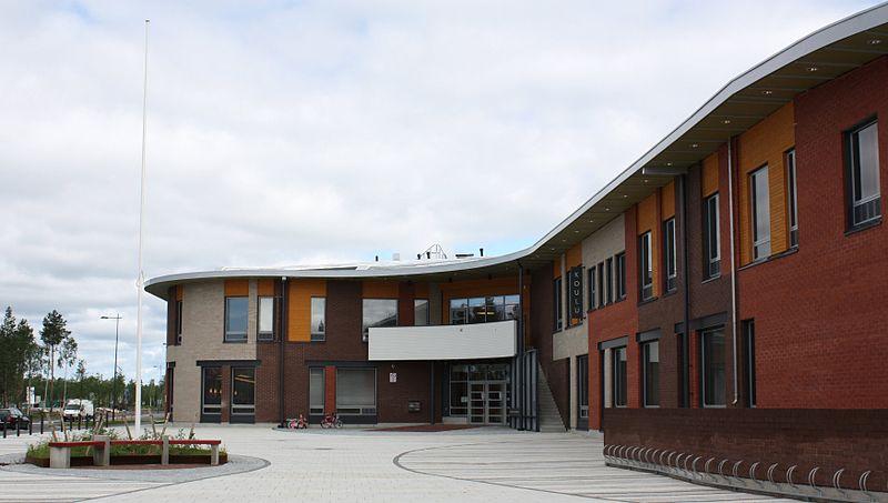 Ritaharju School en Oulu