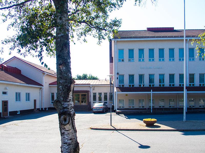 Ulvilan lukio, high school in Friitala, Ulvila, Finland